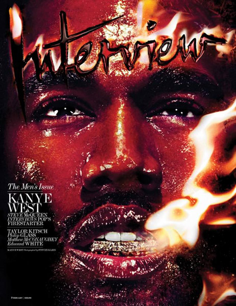 Kanye West Covers Interview Magazine