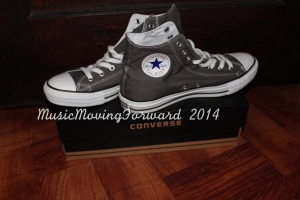 Converse High Tops, Charcoal