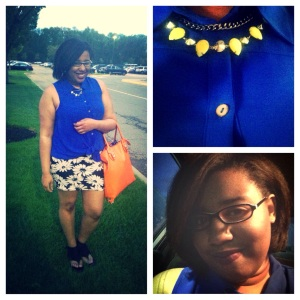 Shirt - Forever 21 Skirt - Forever 21 Shoes - KMart Necklace - H&M Purse - JustFab
