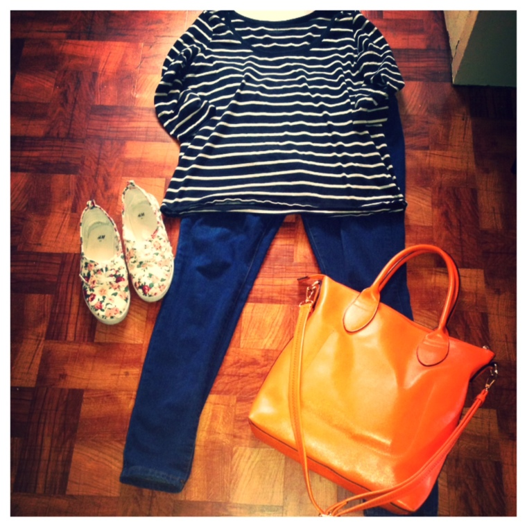 Shirt - H&M Jeans - Forever21 Shoes - H&M Purse - JustFab,
