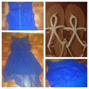 Dress - JCPenny, Bissou Shoes - Target, Merona