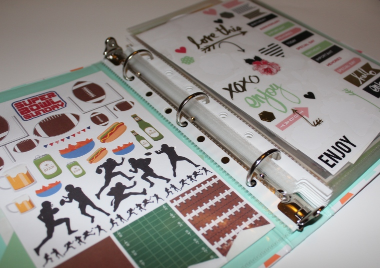 Mini Binder + Sheet Protectors