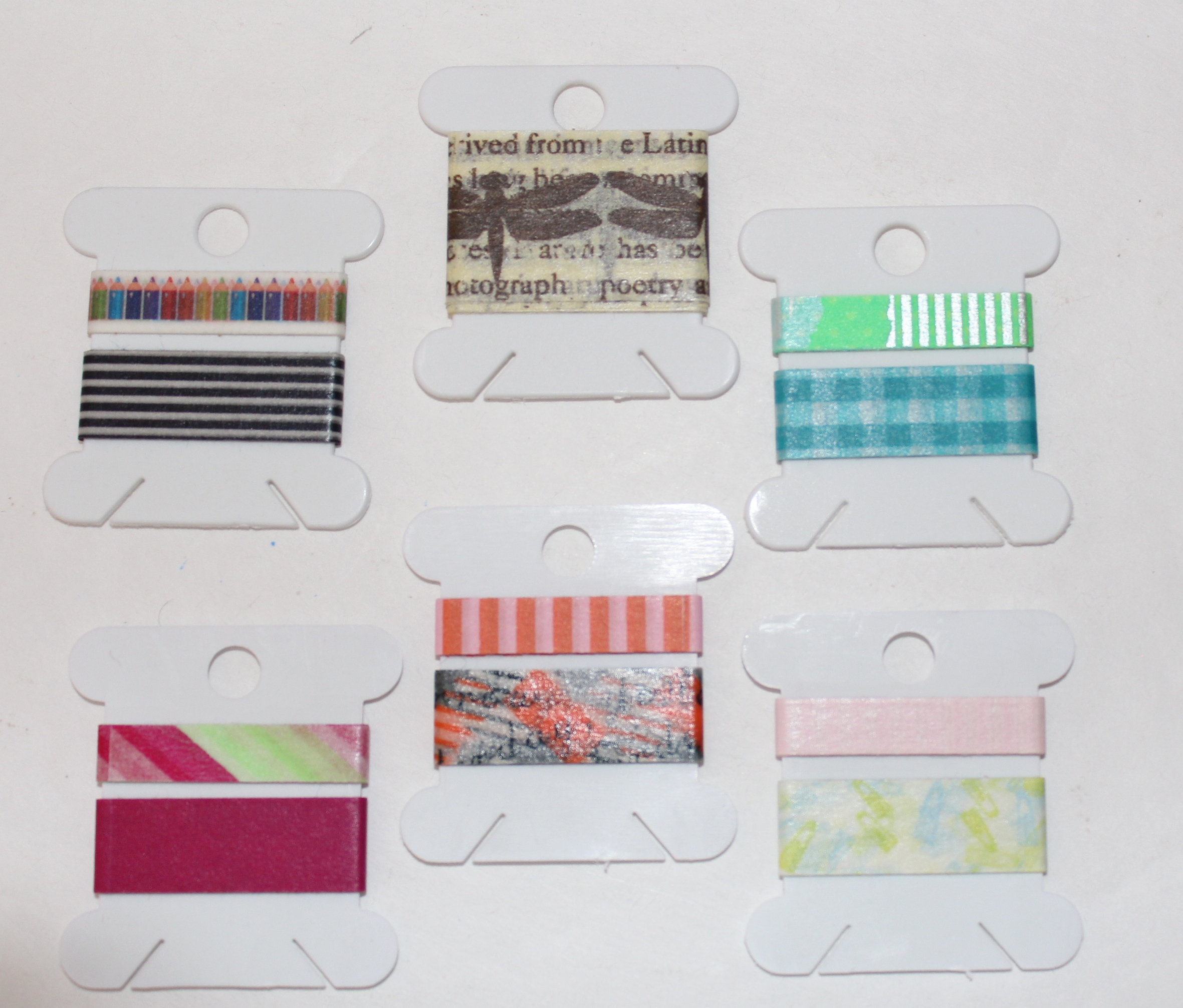 Washi Tape Collection + Storage