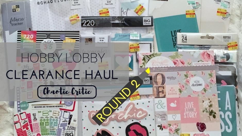 Hobby Lobby Clearance Haul Over 50 In Savings